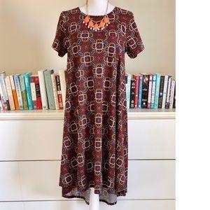 Lularoe | Maroon Carly Dress